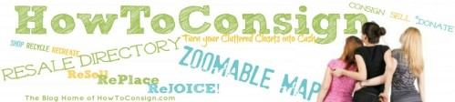 How To Consign the Blog