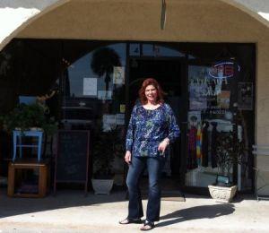 Pamela Wilson of For Arts' Sake in Melbourne Beach FL