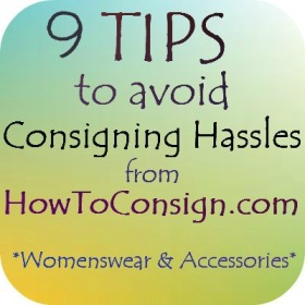 Consign your clothing & accessories at a Professional  Consignment Shop