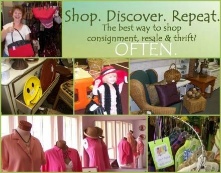 The best way to shop resale? Often.