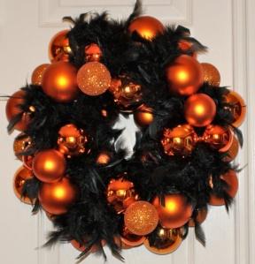 Glamourous Halloween wreath