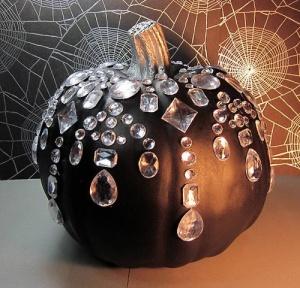 Glamourous Halloween pumpkin