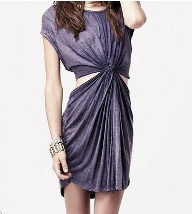 Turn a giant T into a cocktail dress, from HowToConsign.org