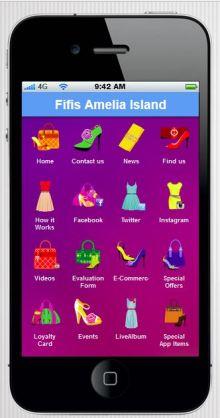 Fifi's Amelia Island has an app!