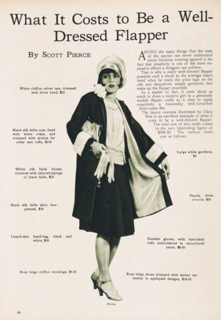 The Well-Dressed Flapper