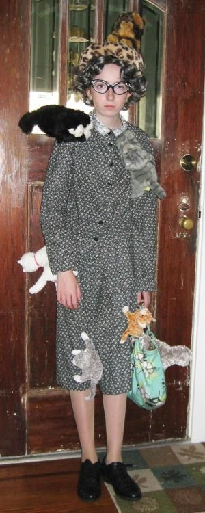 Halloween with thrift shop finds