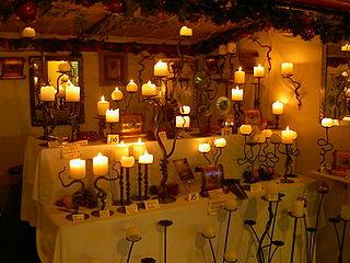 Unique candle sticks