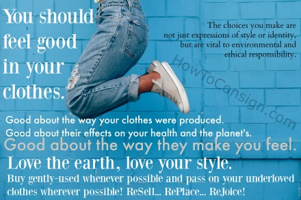 feel good in your clothes